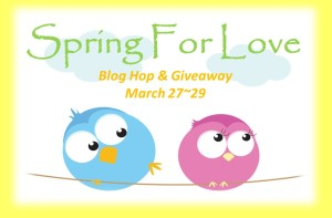 Spring For Love blog hop button