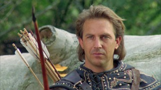Kevin Costner as Robin-Hood