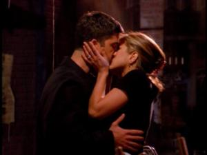 Ross & Rachel's First Kiss