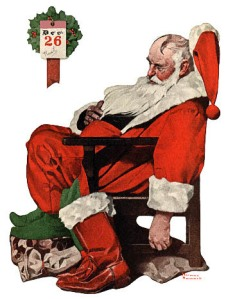 Day After Christmas, Rockwell 1922