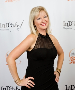 Beth Carter on the RONE red carpet 2015.