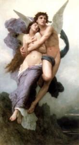 Eros & Psyche, William-Adolphe Bouguereau, 1895