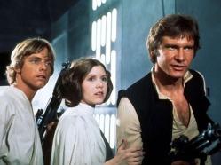 Hans Leia and Luke