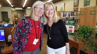 Ash Grove Librarian Linda Brunner