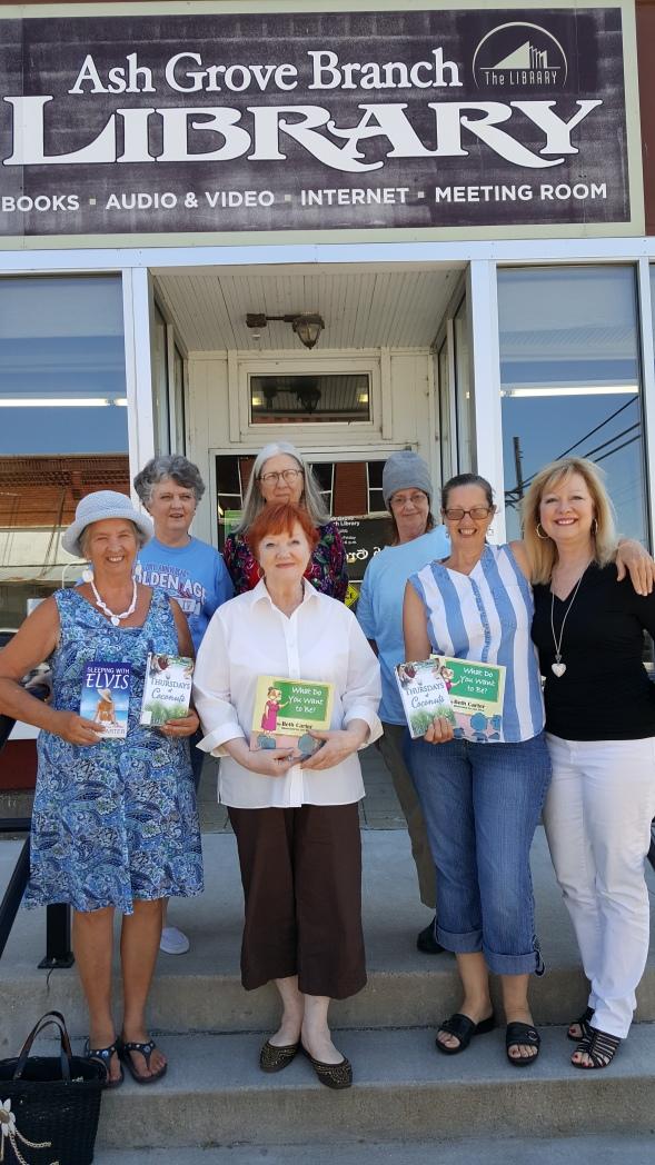 Ash Grove Library book club photo