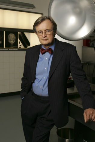 David McCallum stars on NCIS. Photo: Monty Brinton/CBS ©2004 CBS Broadcasting Inc. All Rights Reserved