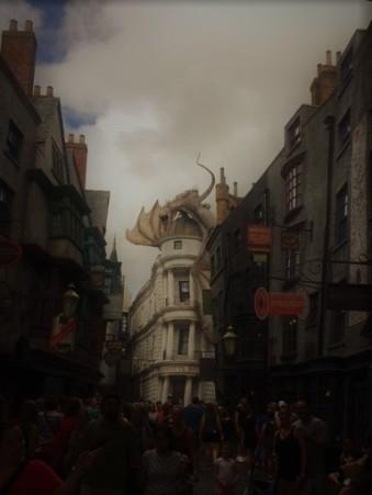 diagon alley w dragon