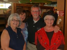 Debra, Patty and us