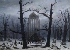 caspar-david-friedrich_monastery-graveyard-in-the-snow-1817-19-300x214
