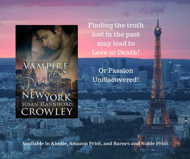 Vampire Princess of New York book card 3