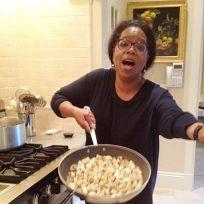 Oprah cooking
